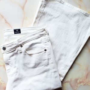 Adriano Goldschmied The Belle White Flare Jeans